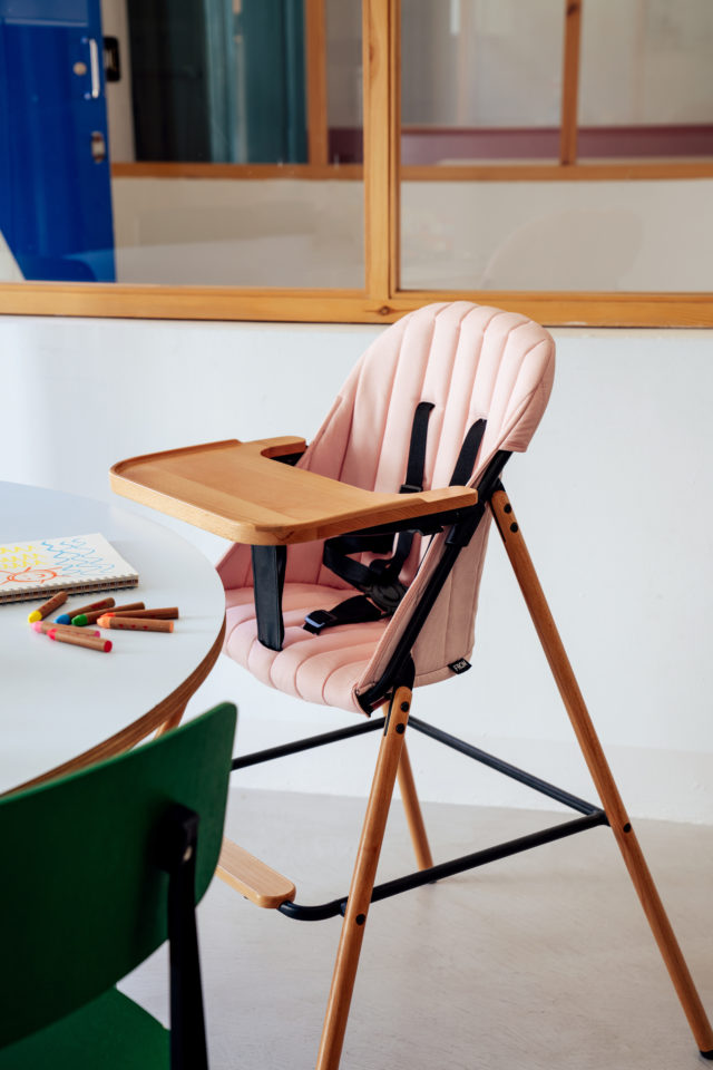 Wood Highchair - FROM